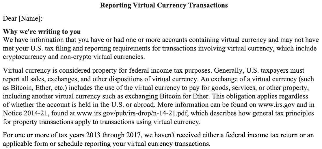 Crypto Taxes 2021
