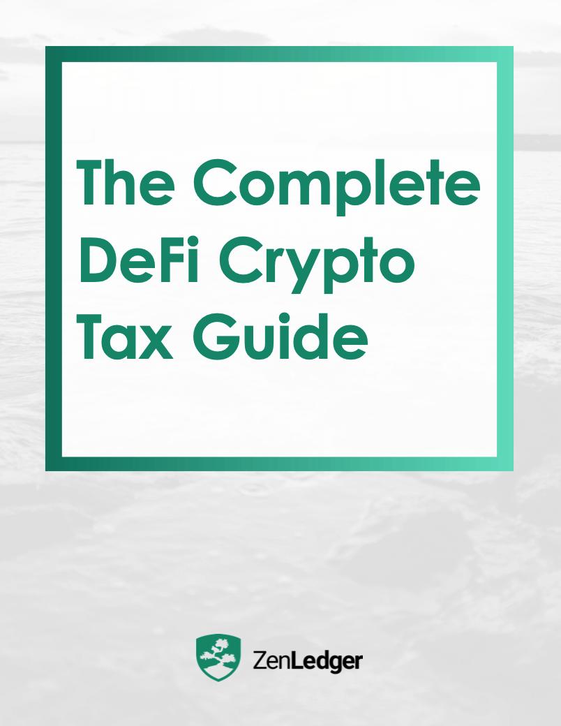 DeFi Crypto Tax Guide