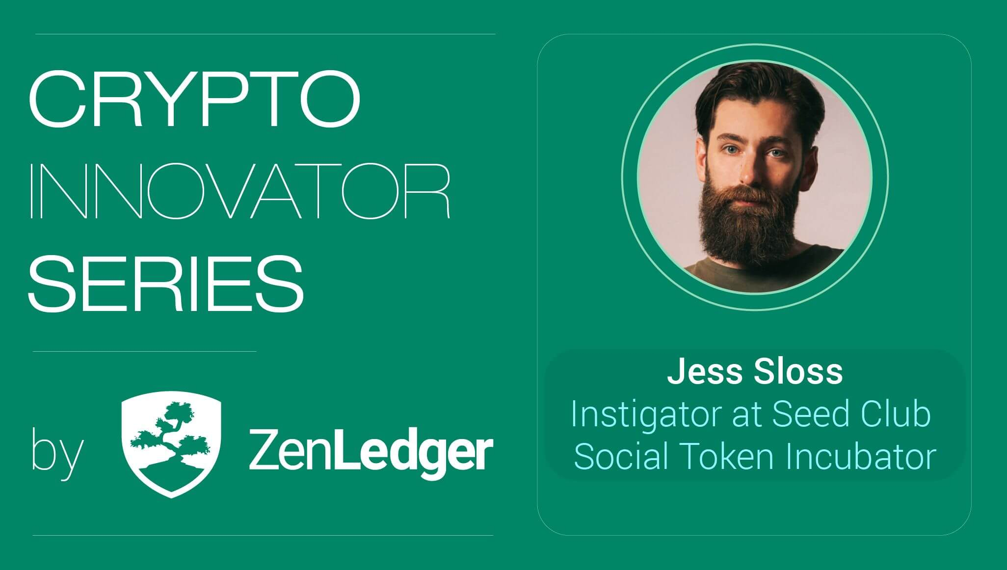 Crypto Innovator Series with Guest Jess Sloss from Seed Club
