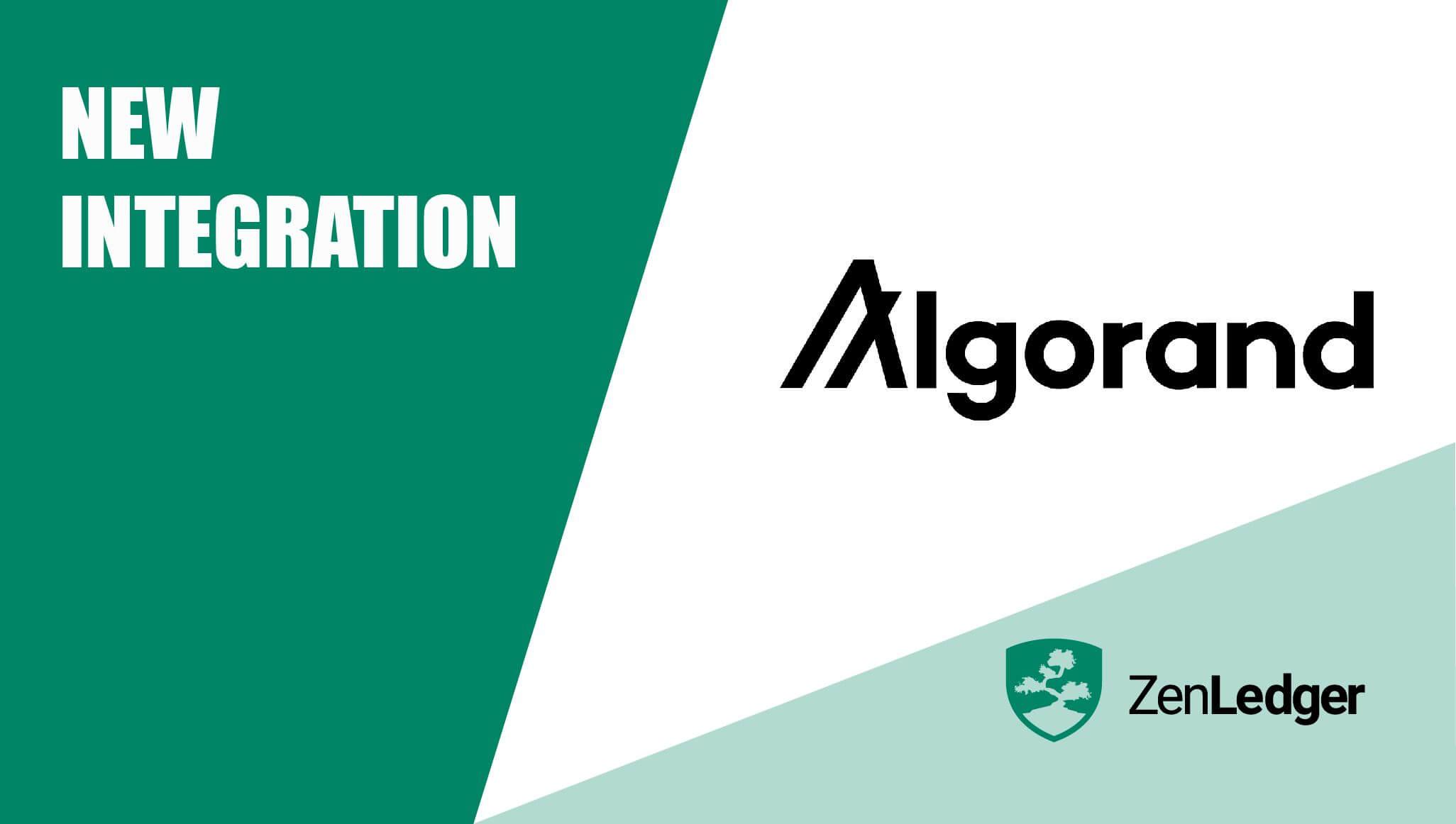 ZenLedger and Algorand Tax