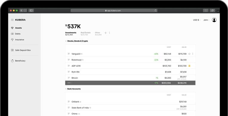 free crypto portfolio tracker