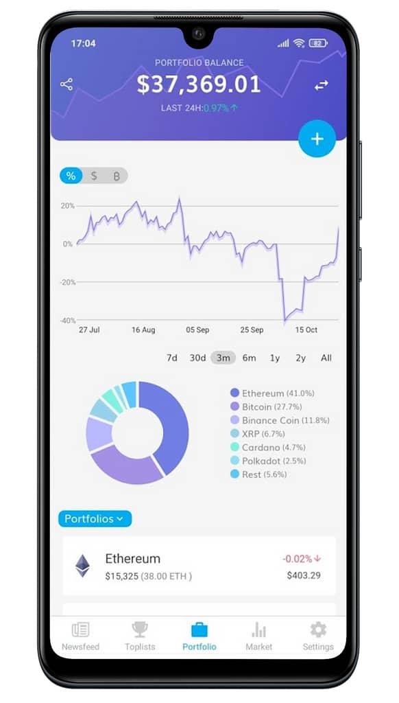 sltpocket crypto portfolio tracker