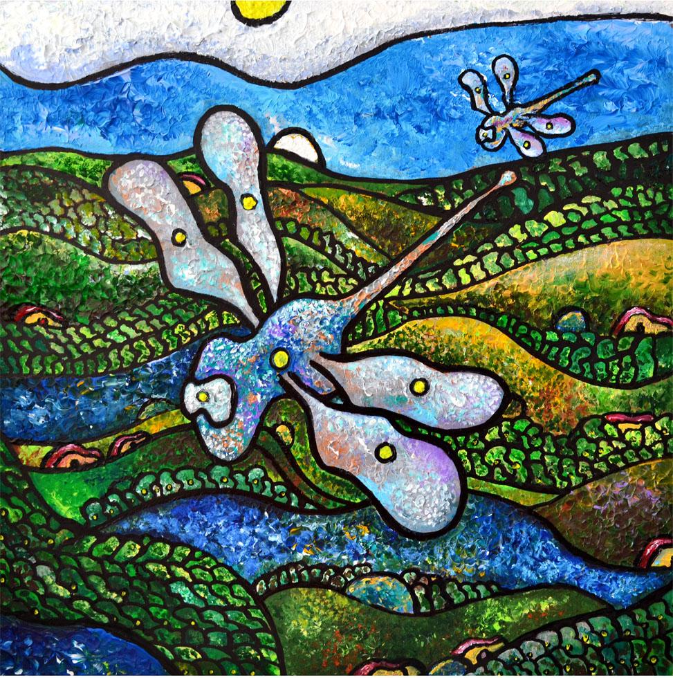 Dragonfly 2 (Print)