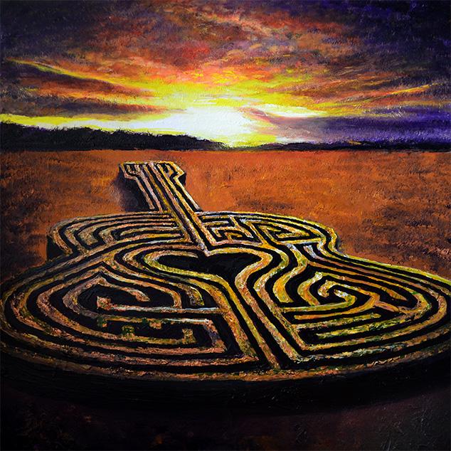 Firelight Labyrinth (Print)