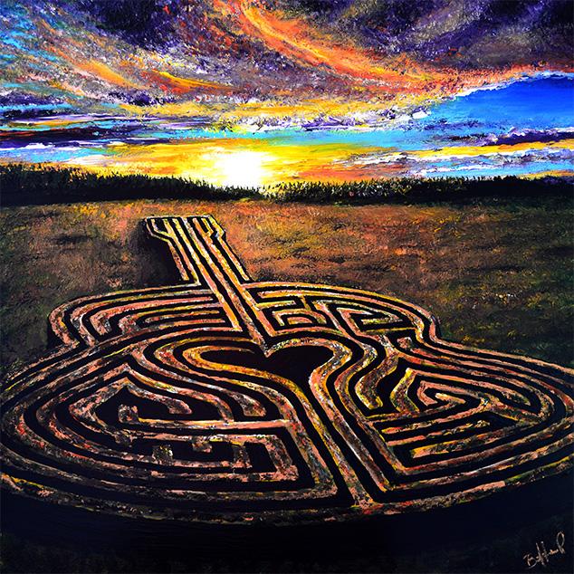 Fall Labyrinth (Print)