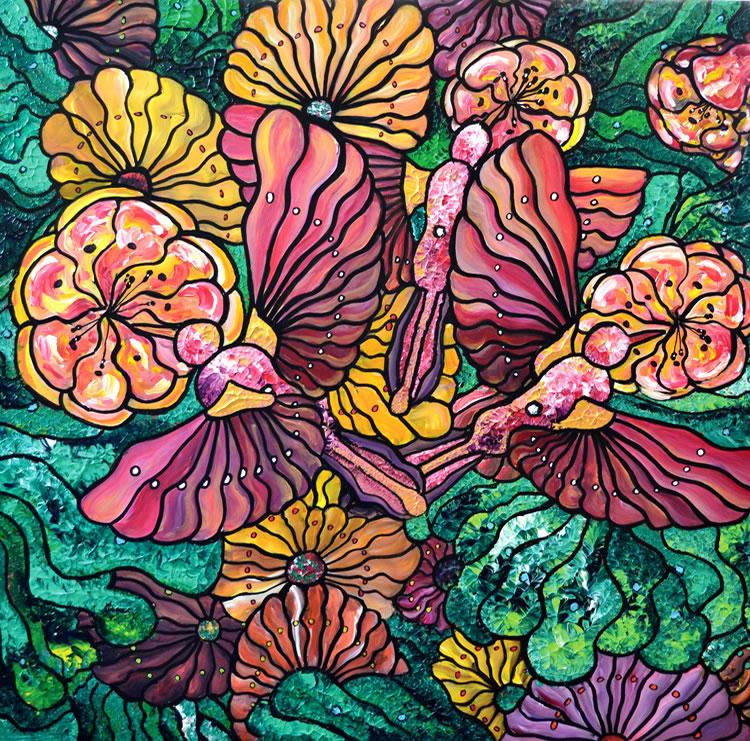 Garden Trio (Print)