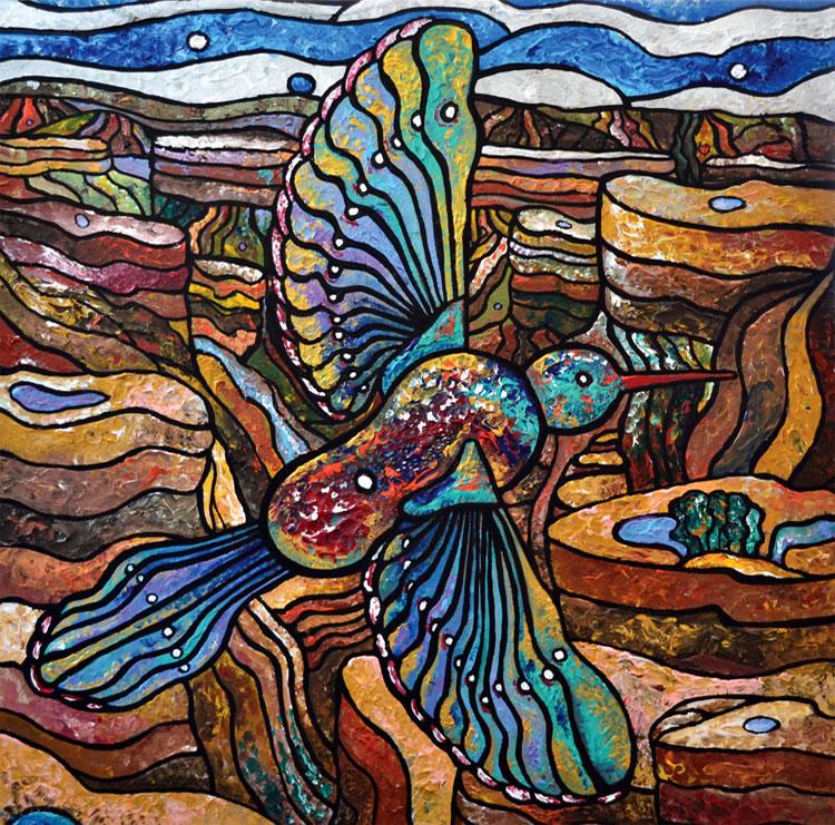 Canyon Bird (Print)