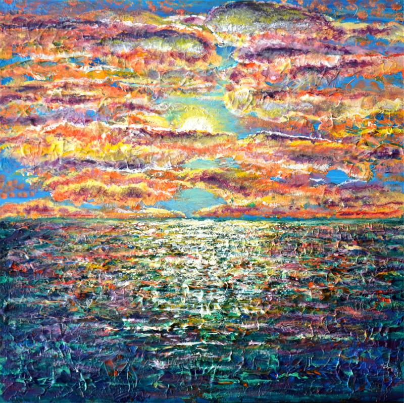 Gulf Sunset (Print)
