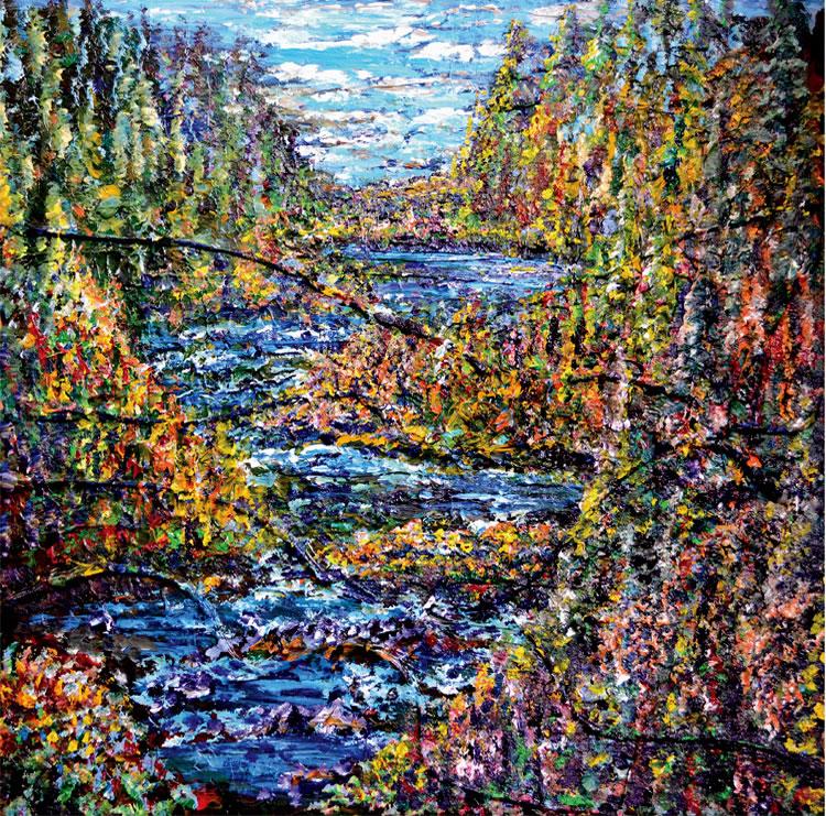 Rush River 2 (print)