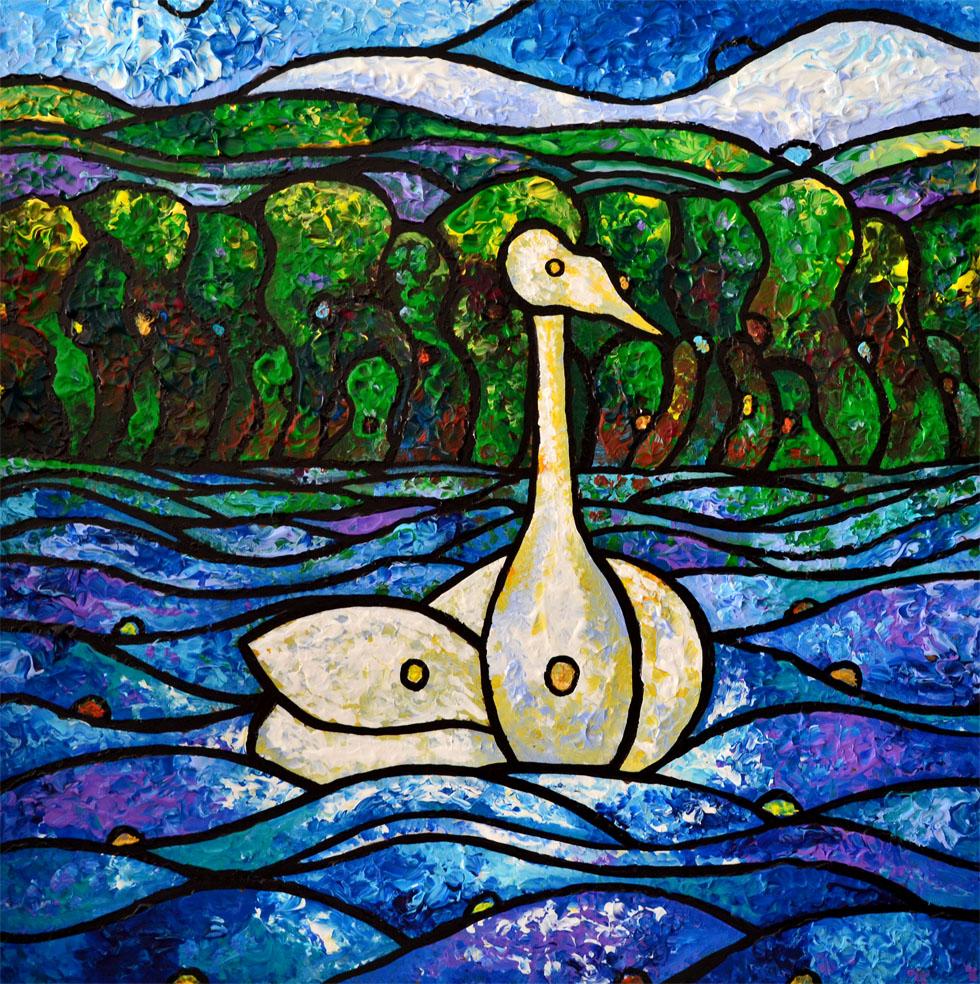 The Swan (Print)