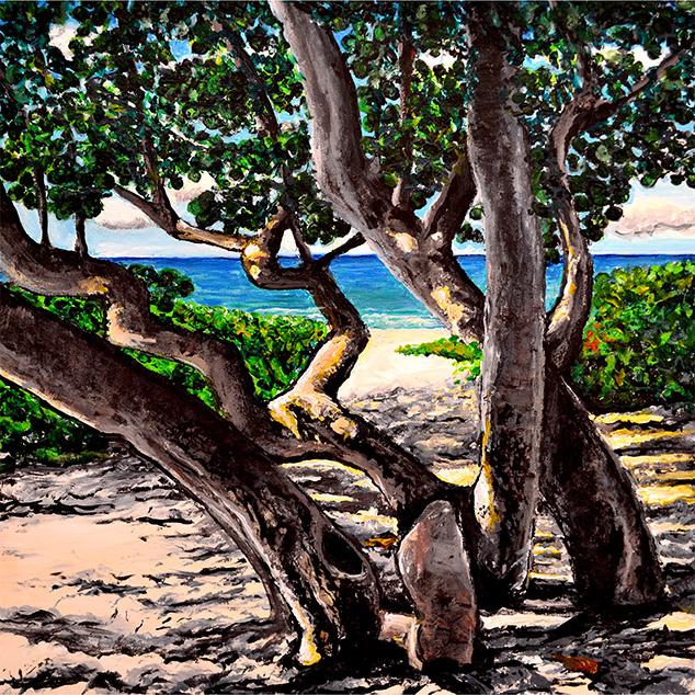 Vedado Beach (Print)