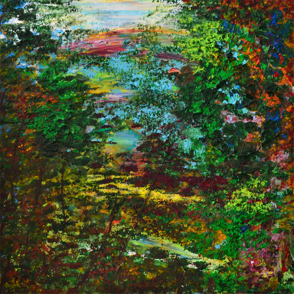 Woods Meadow (Print)