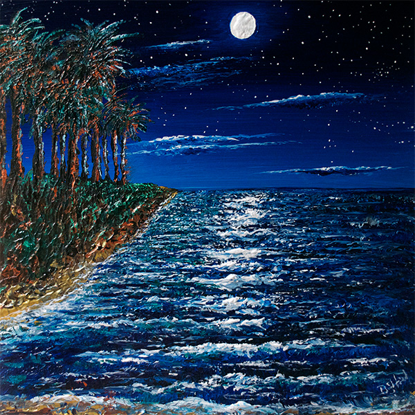 Moonbeach (Print)