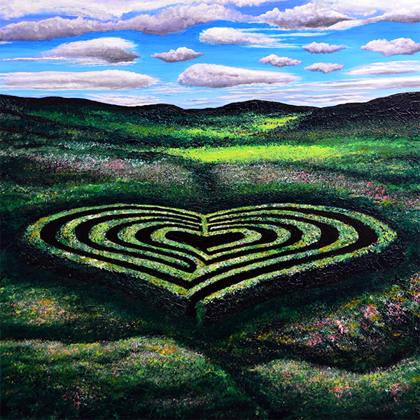 Heart Labyrinth (Print)