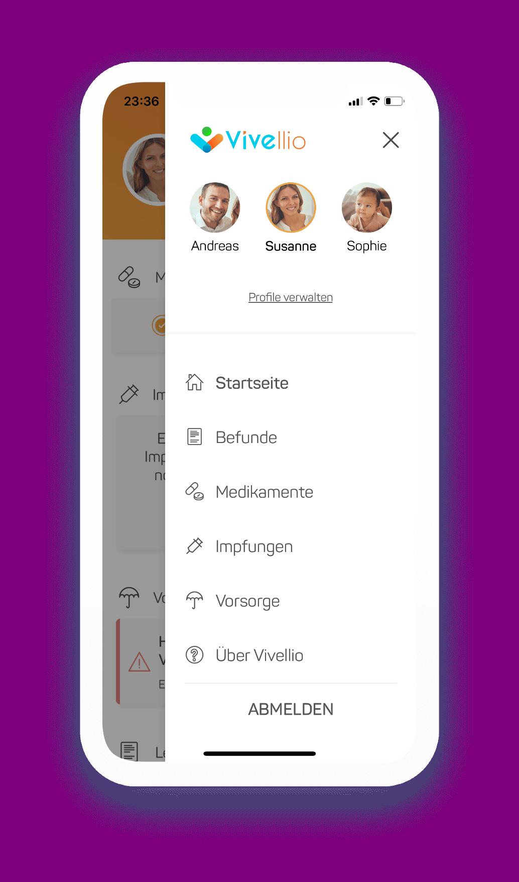 elektronische Gesundheitsakte app