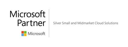 Microsoft Partner Silver Small Midmarket Cloud Solutions banner