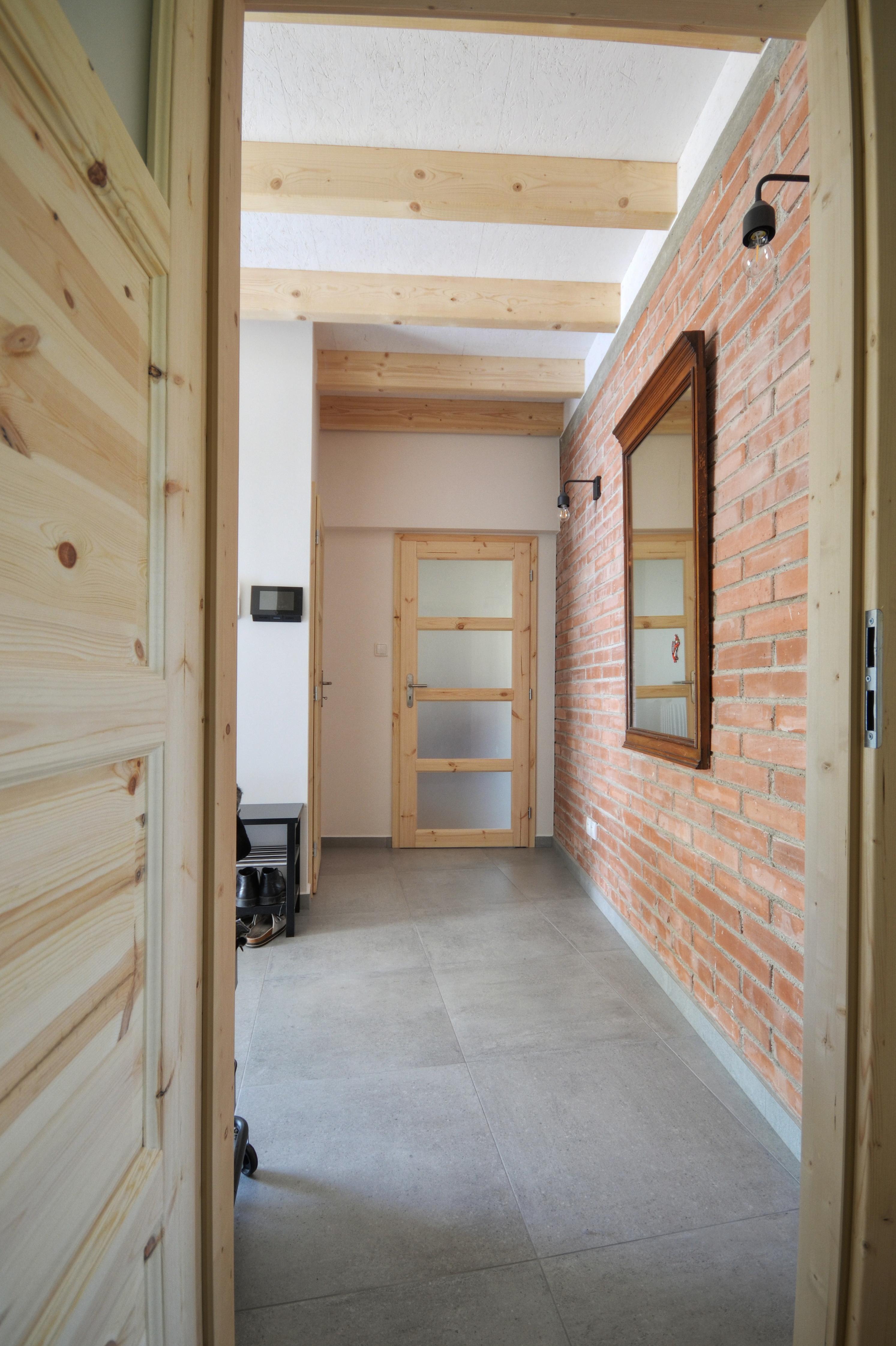 interiér, dřevostavba, vestavba, chytrý dům