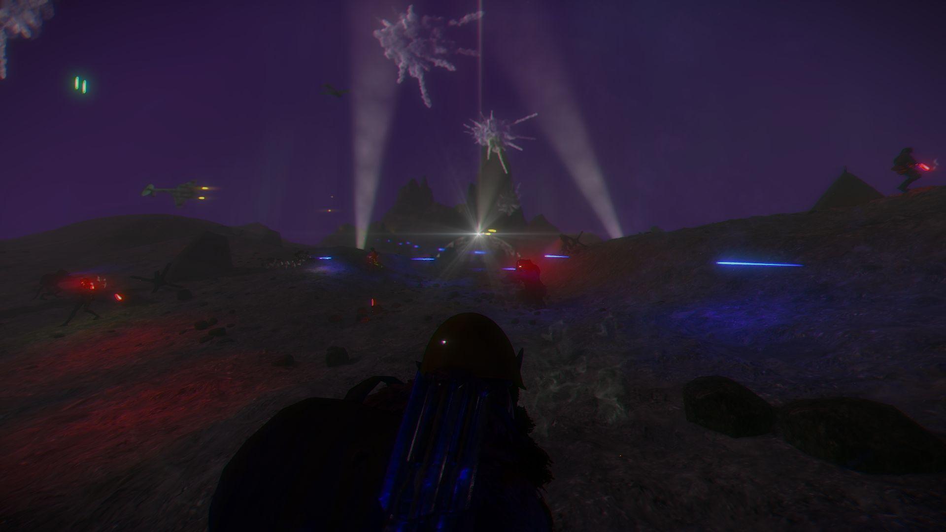Attack at night