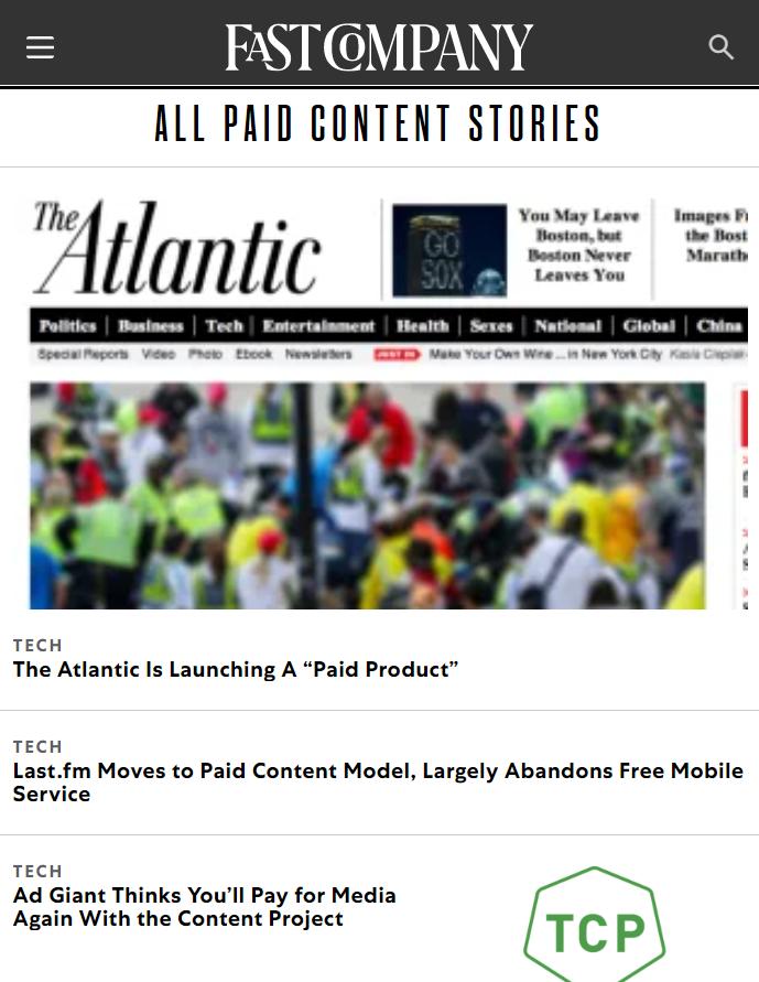 sponsored editorial stories