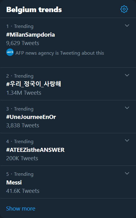 hashtag trends twitter