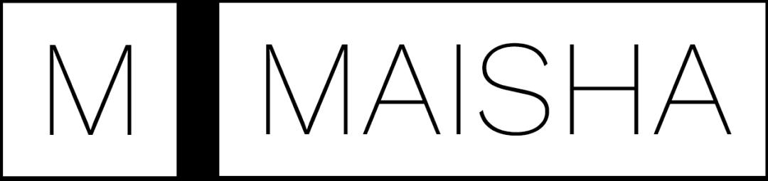 Maisha logo in white