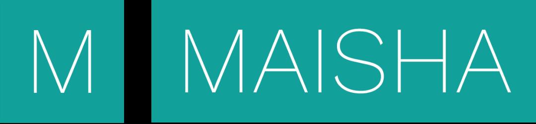 Maisha logo in green