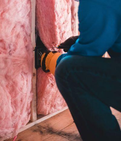 Home insulation install