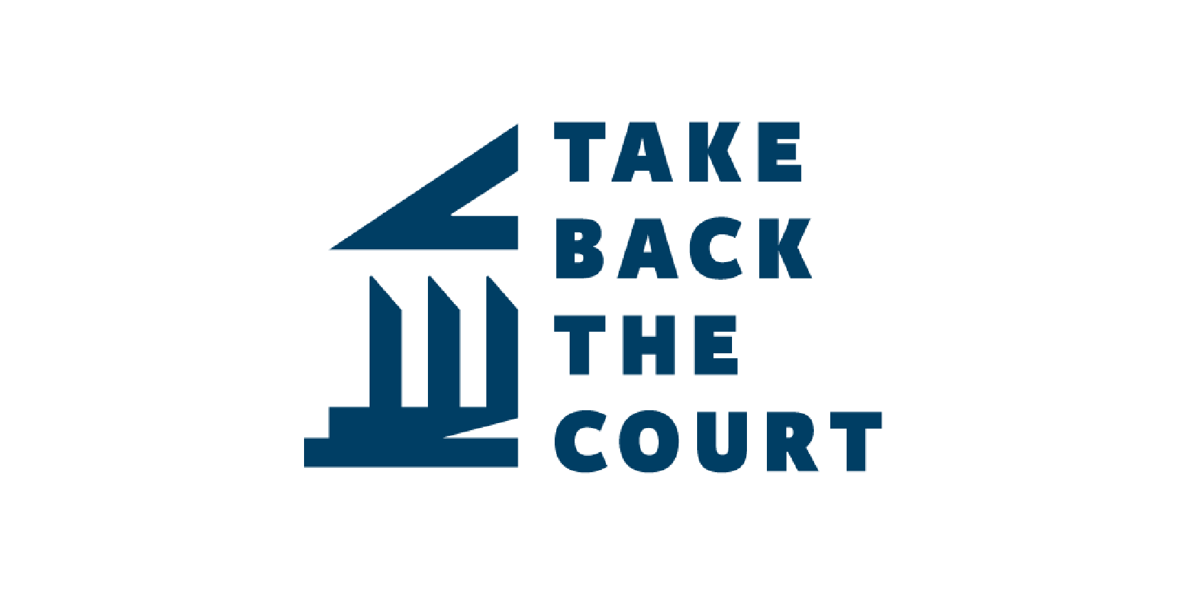 Take Back the Court logo