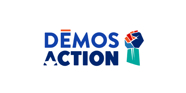 Demos Action logo