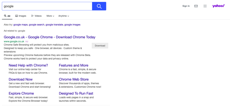 Pictured: how some people actually get to Google. I've seen it.