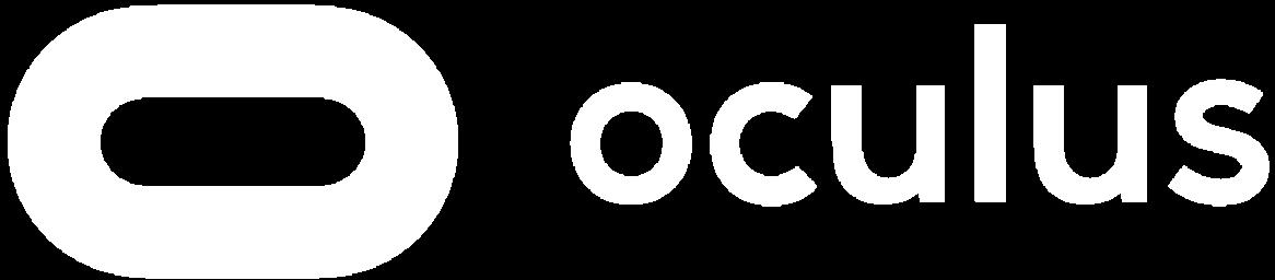 Oculus logo white transparent