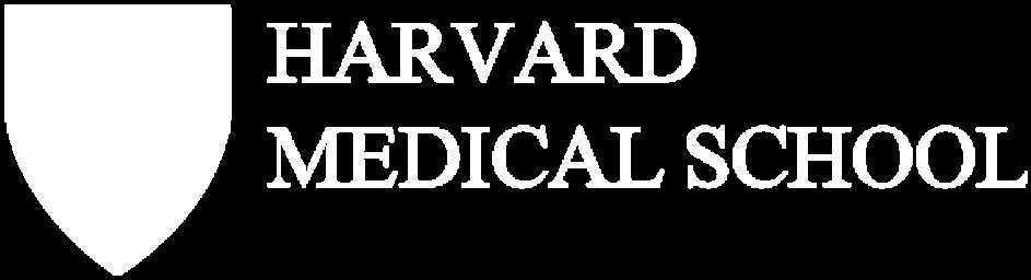 Harvard Medical School logo white transparent