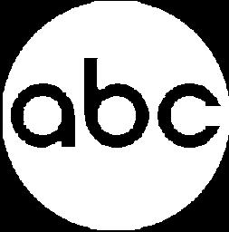 ABC logo white transparent