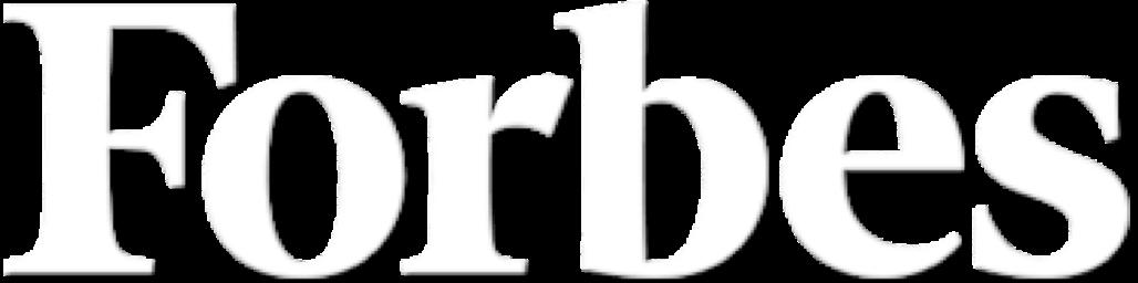 Forbes logo white transparent