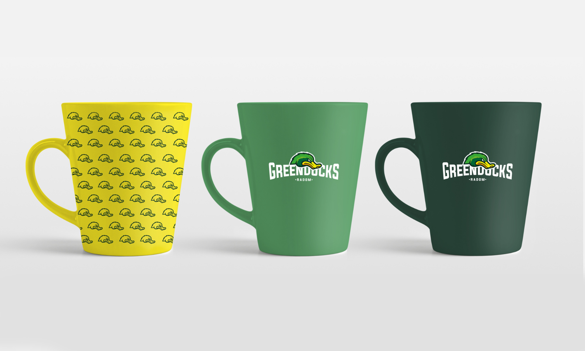 Kubki reklamowe Green Ducks