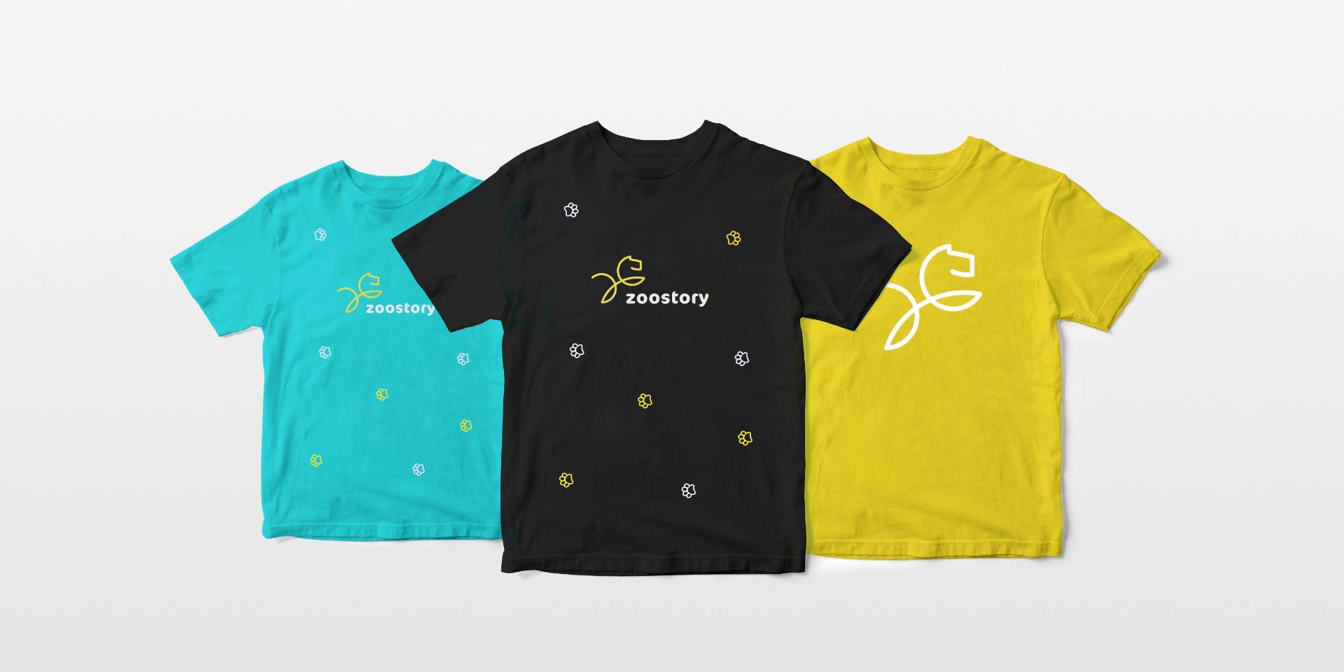 Projekt graficzny koszulek zoostory