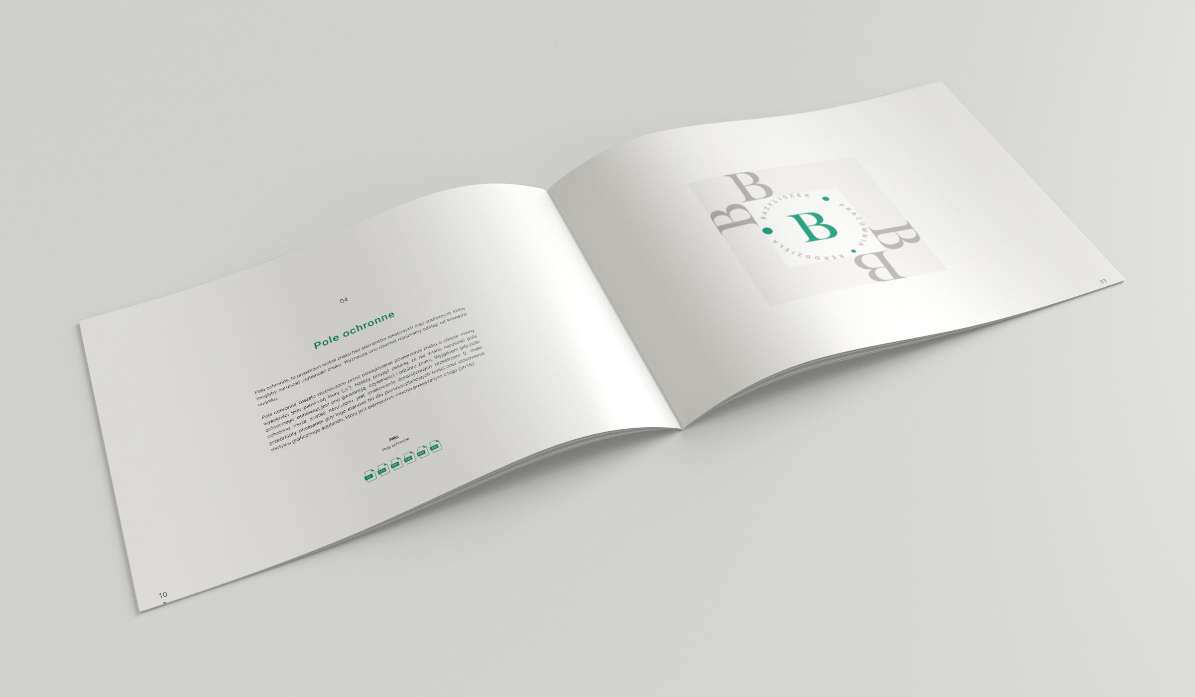 Projekt księgi znaku Bazyliszek