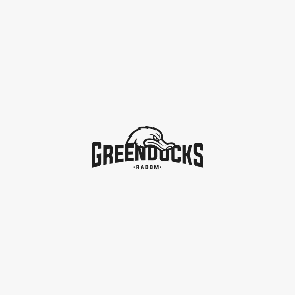 green ducks wersja achromatyczna