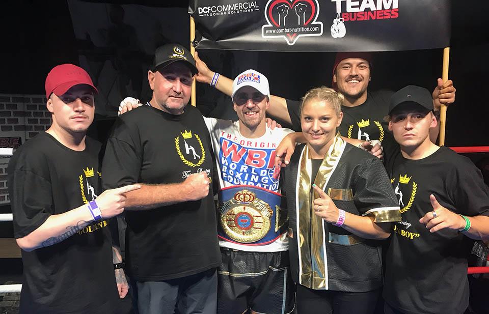 Tyson Lantry and team