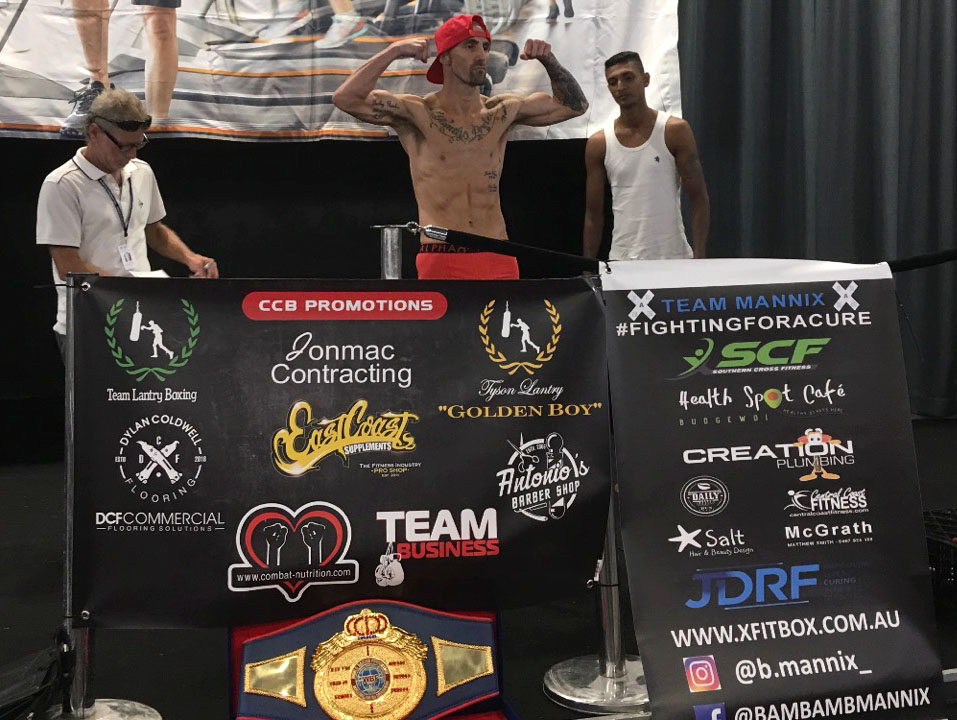 Tyson Lantry vs Krihnil Mudaliar