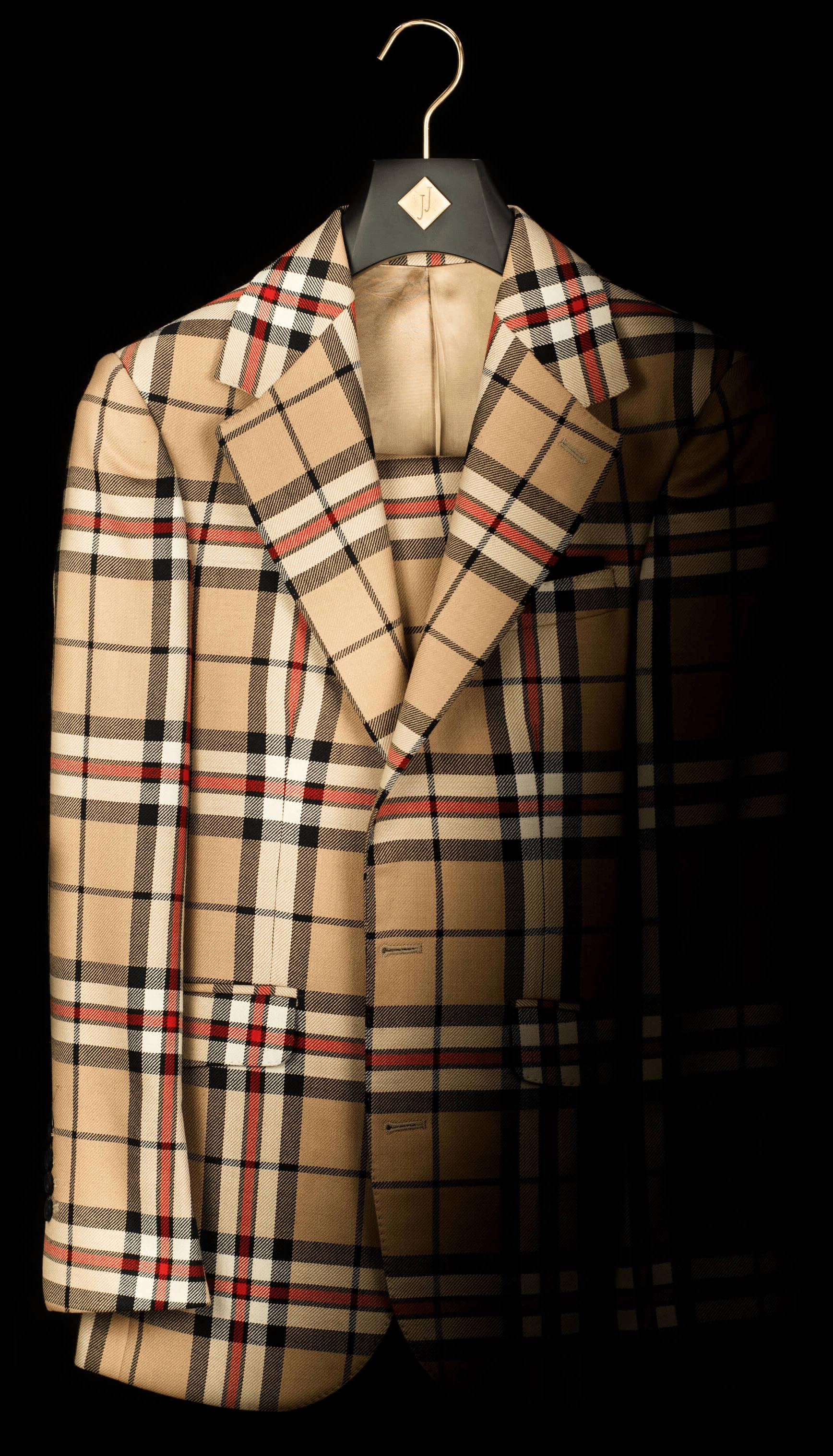 Suit, made by Joshua Julian