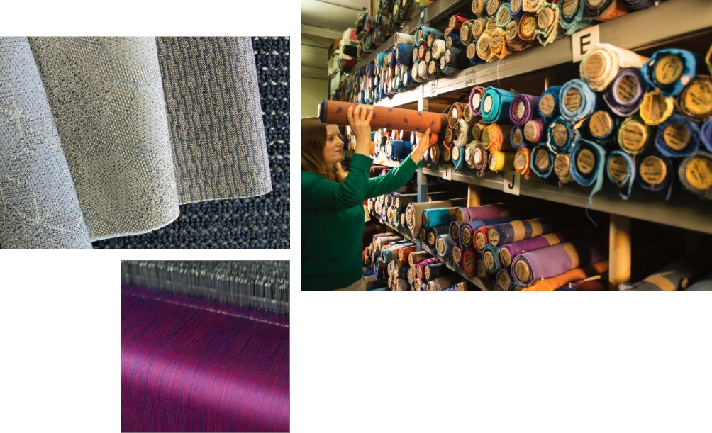 Fabrics and carpers from Botany Weaving