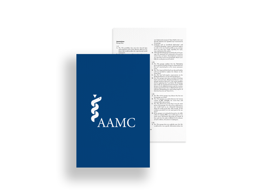 Free AAMC Passages