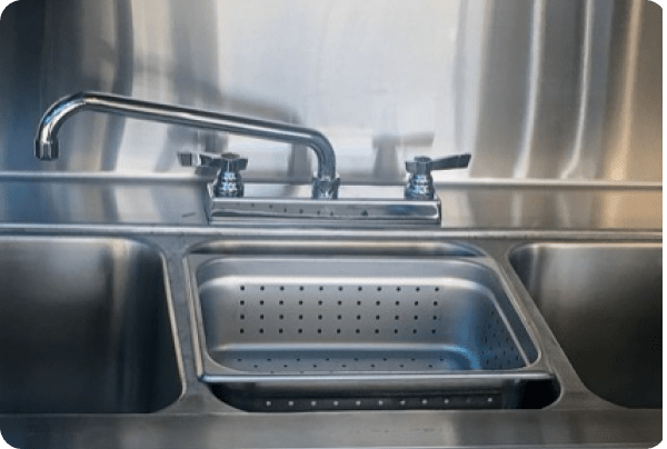 Sink inside the On The Go LA truck