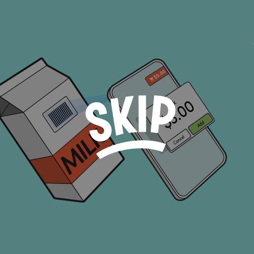 Skip checkout illustration