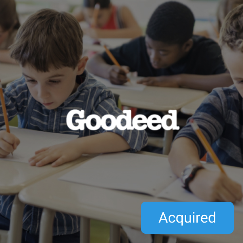 Students put through schhol thanks to donations provided by our portfolio company goodeed.