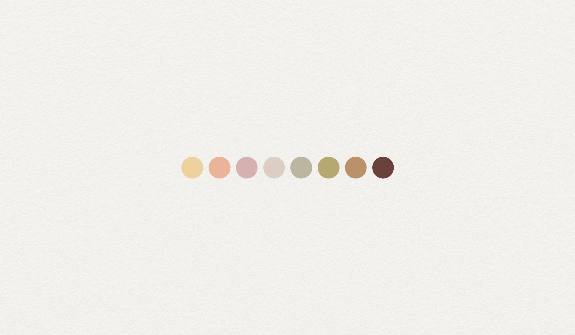 Innately Me colour palette