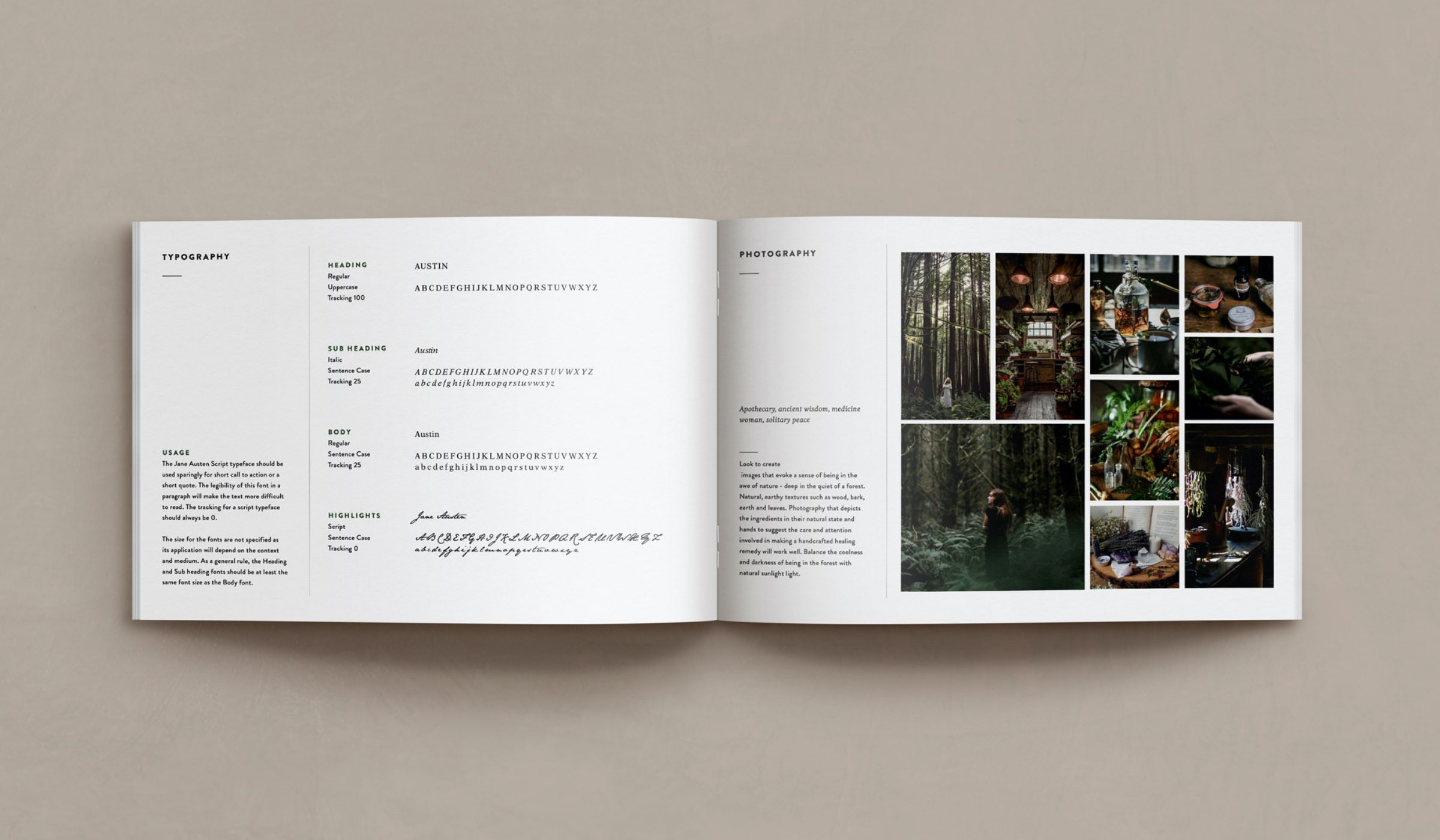 Tracey McLean brand style guide