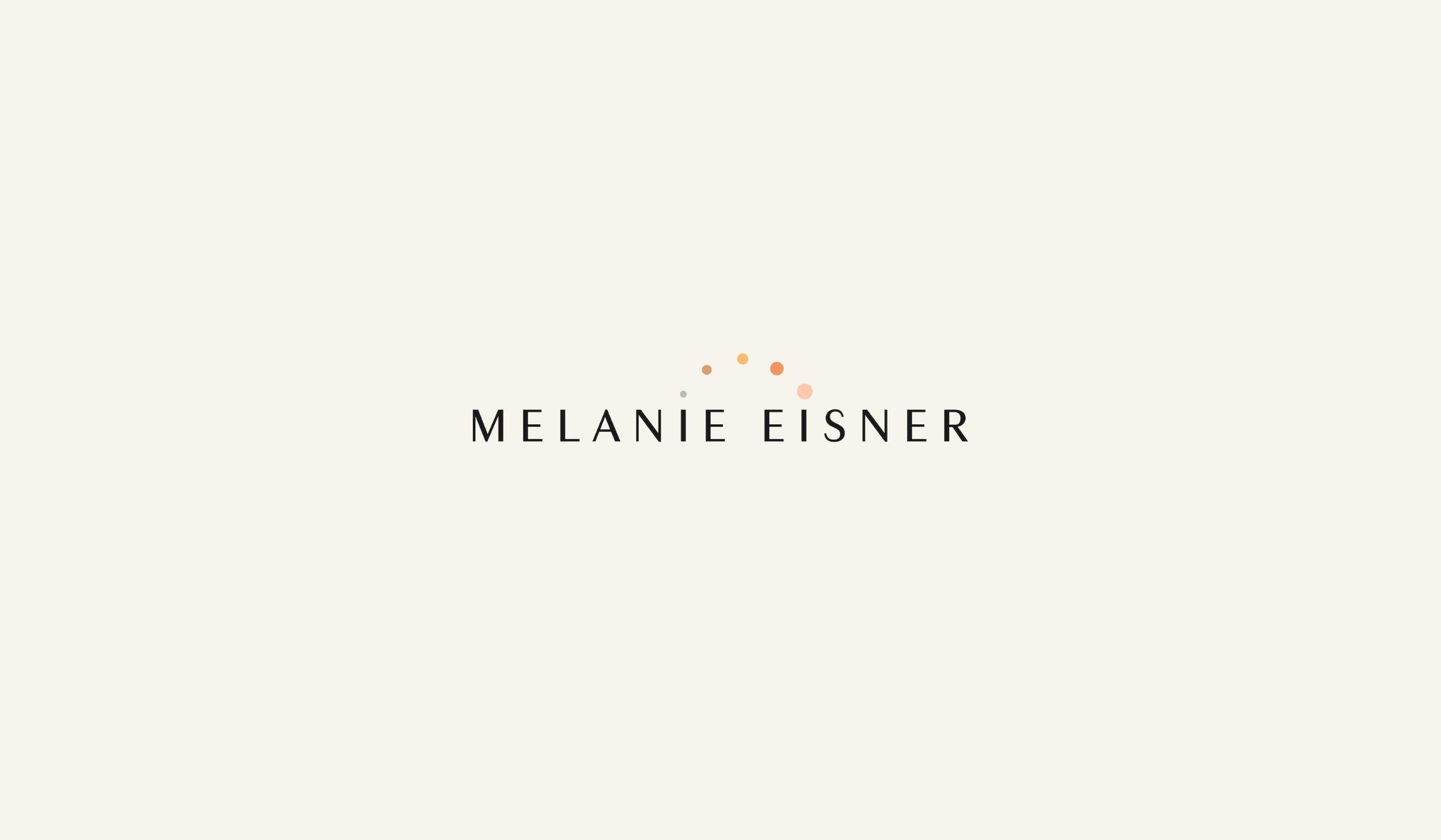 Melanie Eisner Text Logo