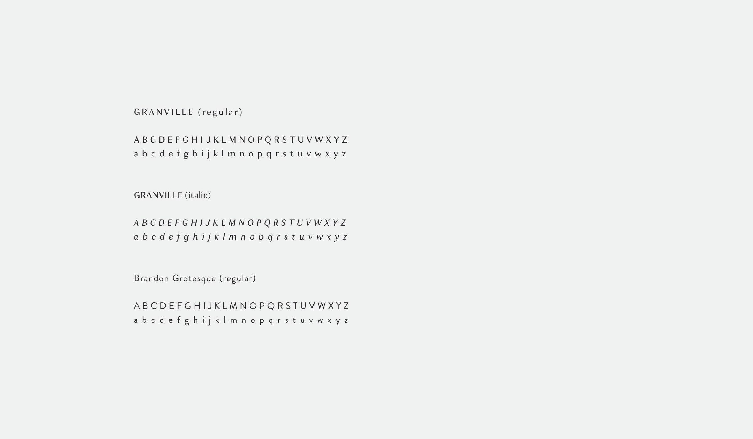 Melanie Eisner typographic font style